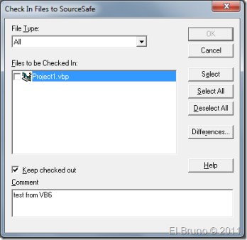 TFS2010] HowTo: Use the MSSCCI provider with Visual Basic 6