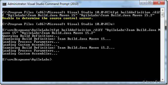 TFS2010] Error: Unable to determine source control server