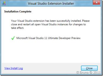 VS11] Installing # ReSharper with Visual Studio 11 – El Bruno