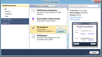 VS2010] HowTo: Install a VSIX package without using the
