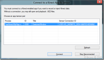 KINECTSDK] HowTo: Use Kinect Studio to record and play a Kinect