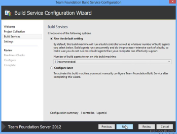 TFS2012] HowTo: Set up a local Build Server for Team Foundation