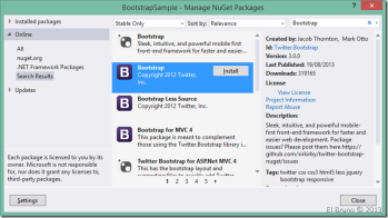 VS2013] HowTo: Create a website project in Visual Studio using