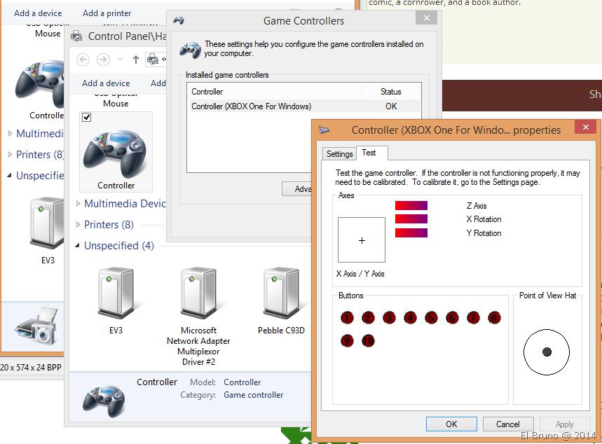 CODING4FUN] #XboxOne Game Controller + C# = fun time! – El Bruno
