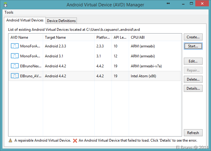 Updating virtual devices daemon tools
