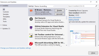 VS2015 – Delete all comments in a file with #Roslyn – El Bruno