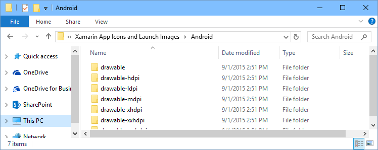 VS2015 – Icon Generator for #Xamarin Android app – El Bruno