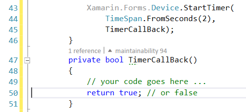VS2015 – Timer for #Xamarin Forms? you've got some options