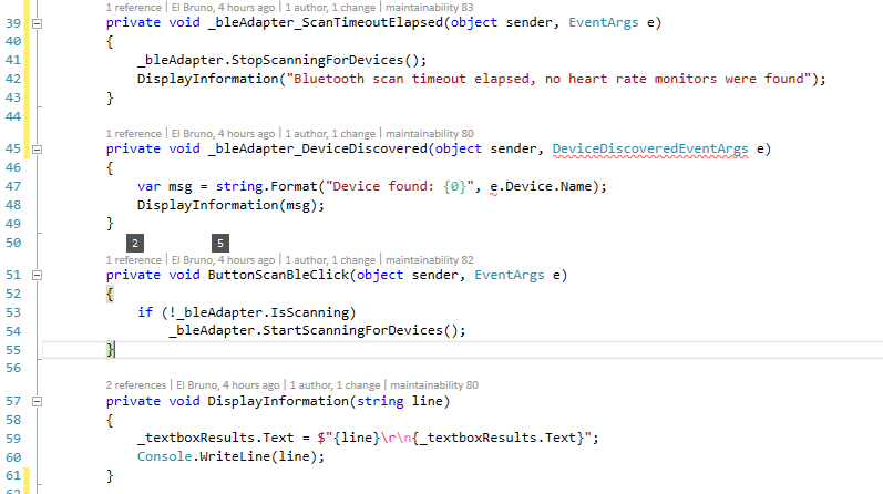 VS2015 – Listing #BlueTooth LE Devices in #Android with #Xamarin
