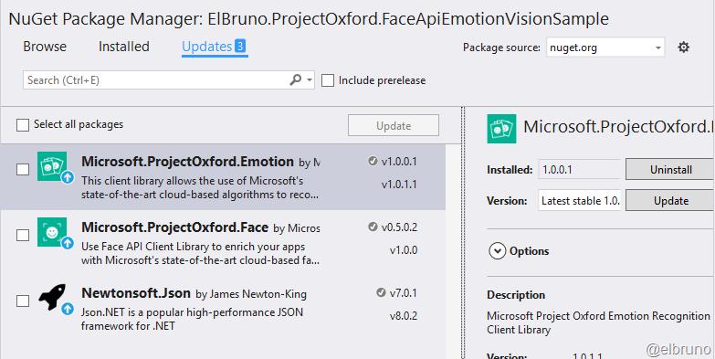Face Detection – El Bruno