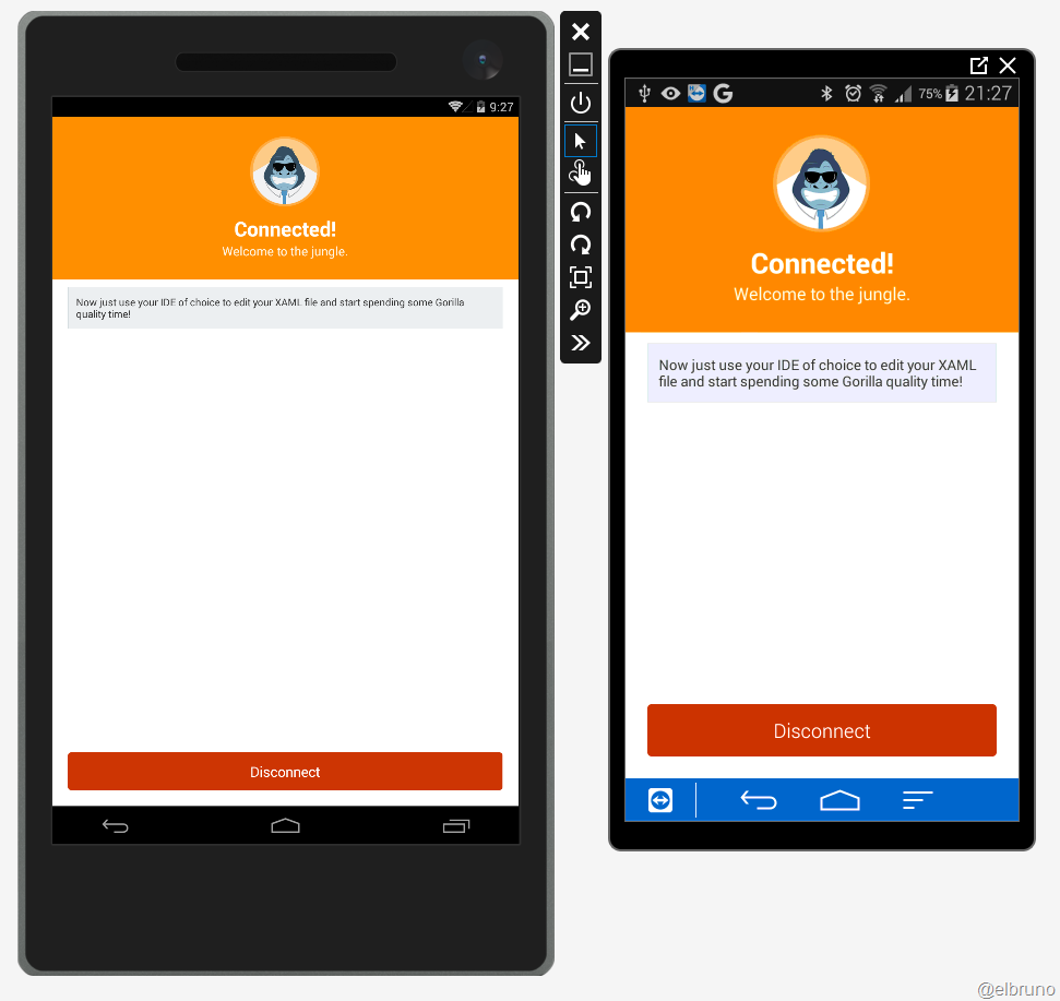 Xamarin – Live preview of #Xaml in #XamarinForms using