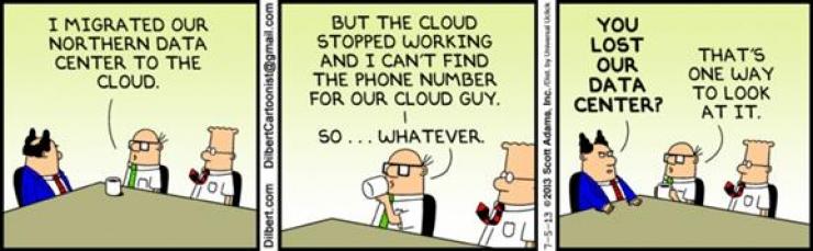 dilbert data cloud