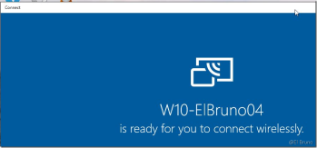 Windows10 – Using your station as #Miracast TV with the new