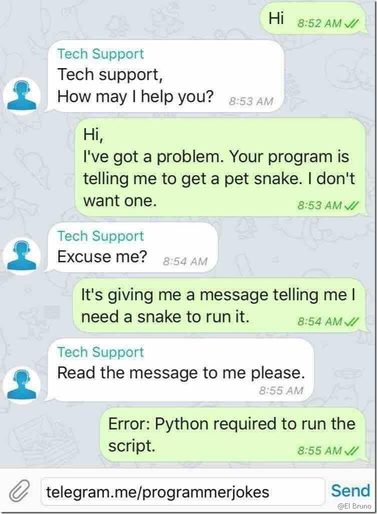 pythin required