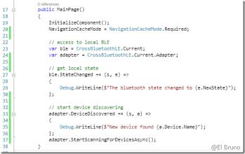 Xamarin – #Bluetooth LE plugin version 1 0 (Monkey Robotics