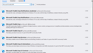 WINDOWS10 – UWP Community Toolkit 1 5  New BlueTooth LE