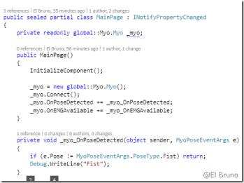 Myo – #Windows 10, #UWP Apps, #Myo and Visual Studio 2015
