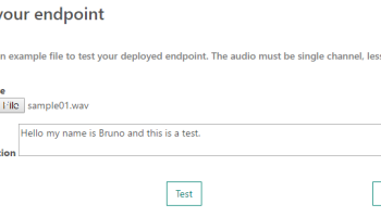 CognitiveServices     How to create audio files for Custom Speech     El Bruno