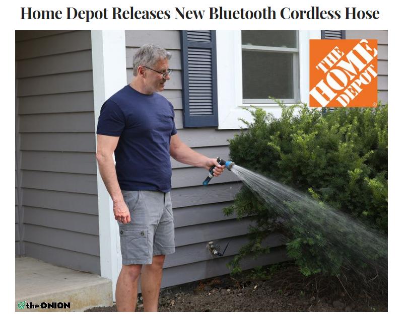 Home depot cordless hose