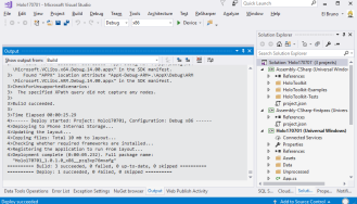 Hololens – #Error: Unable to activate Windows Store app '!App'  The