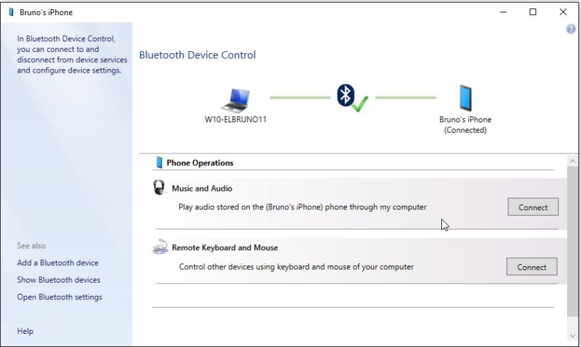 HowTo – Listen audios from your #iPhone in #Windows10 using