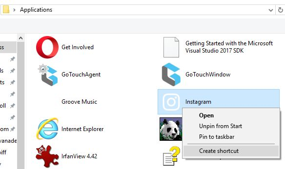 Windows10 – How to add a Windows Store App to Windows 10 Start up