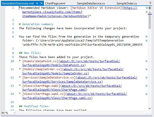 VS2017 – Adding new elements in a #Windows10 App using