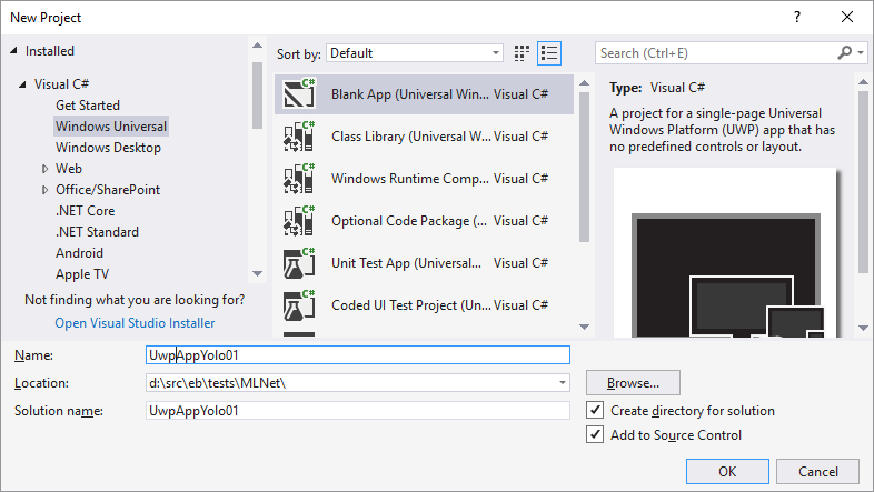 WinML – How to create a #Windows10 App using #YOLO for