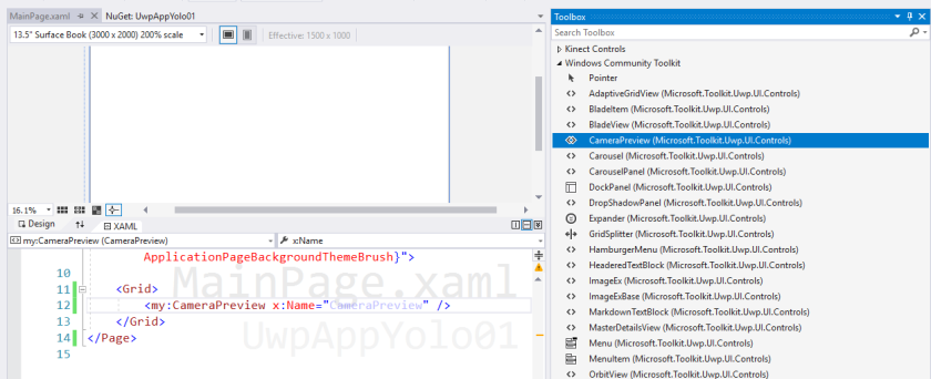 WinML – How to create a #Windows10 App using #YOLO for object