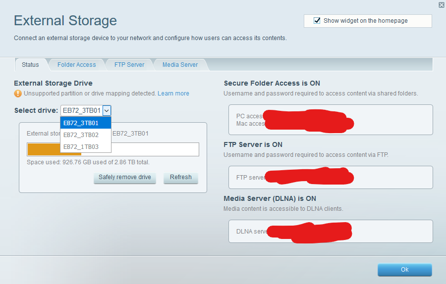 Personal – My Experience using a #Linksys router, an external 8TB