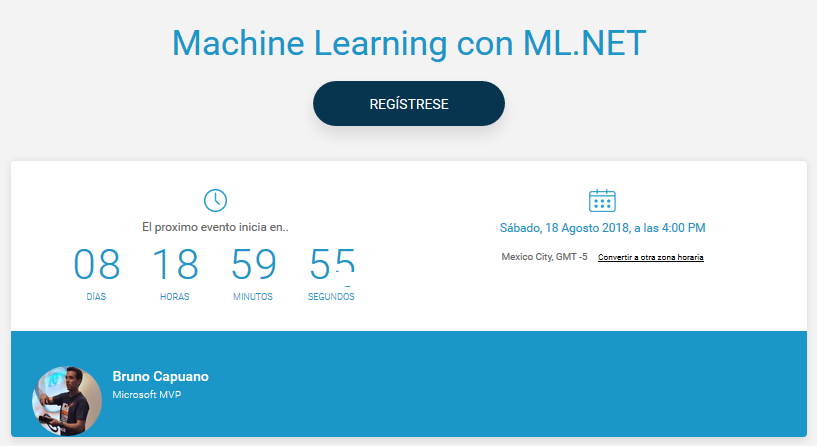 Event Machine Learning Using Ml Net El Bruno