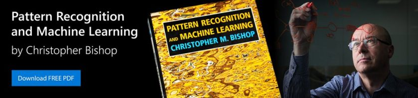pattern recognition and machine learning christopher bishop