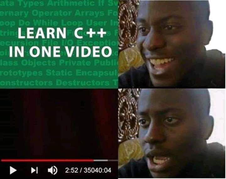 learn c++ in one video