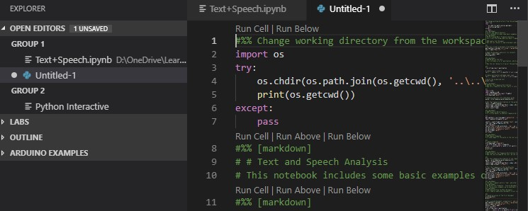 VSCode – Edit and work with #jupyter notebooks in Visual Studio Code