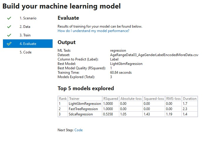 MLNET – Testing Machine Learning Model Builder preview  It's