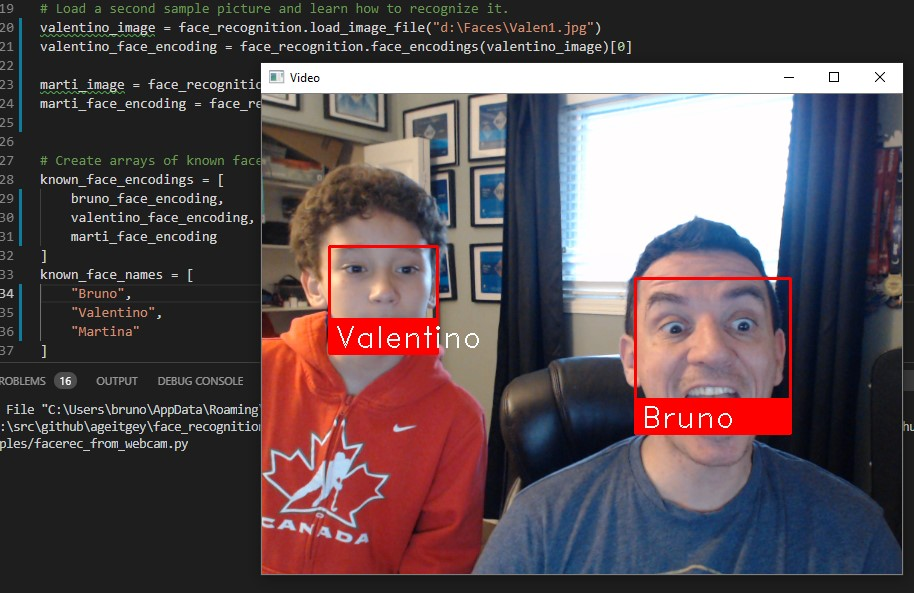 VSCode – Let's do some #FaceRecognition with 20 lines in #Python