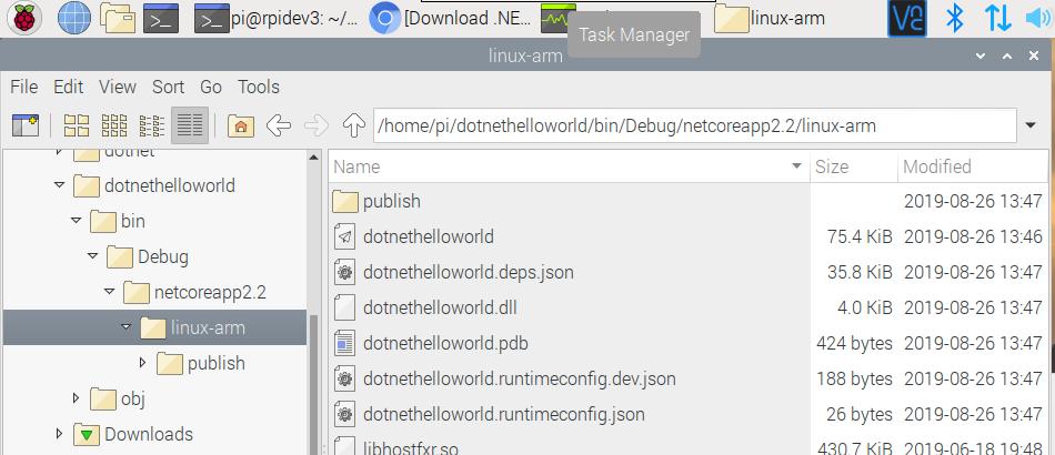 RaspberryPi – How to install #DotNetCore in a #RaspberryPi4
