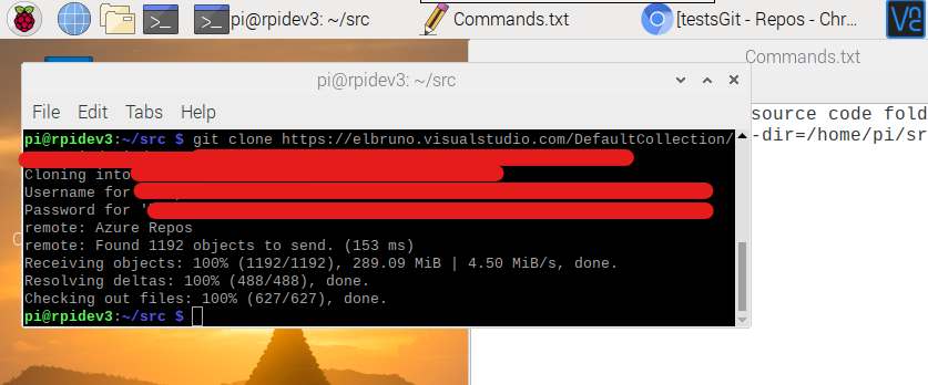 VSCode – Let's do some #Git dev in #RaspberryPi (GitHub and