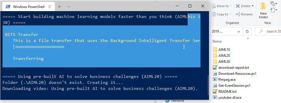 Microsoft ignite download Ai learning path videos