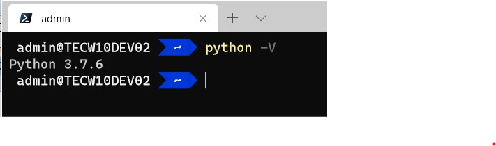 python current version 3.7.6
