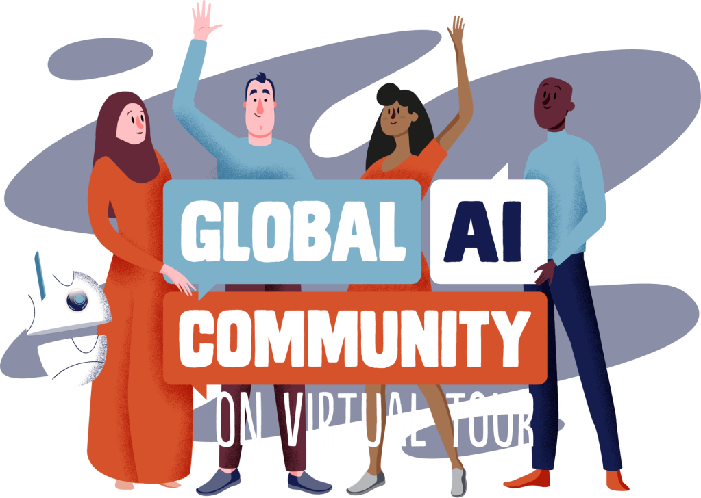 Globa AI Community on Virtual Tour Logo