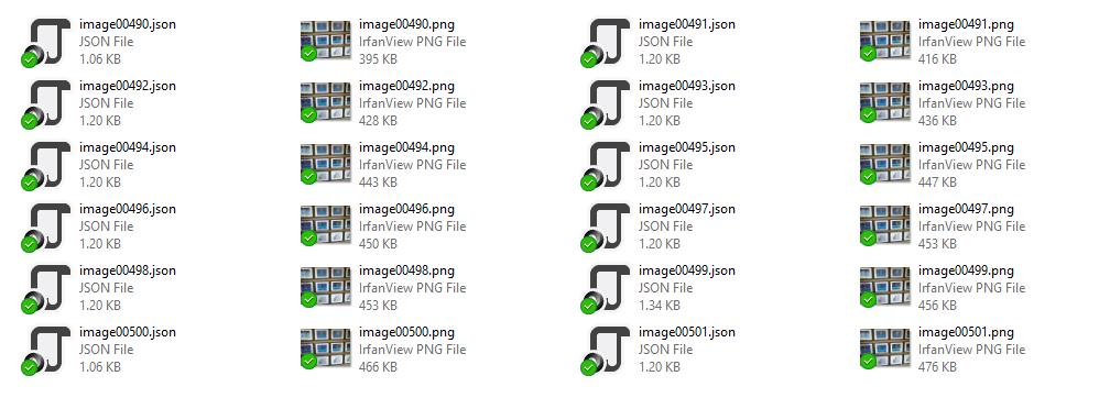 drone recognized files
