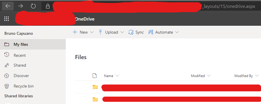 office 365 in onedrive view