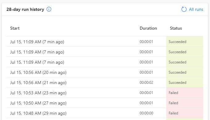 power automate demo flow history