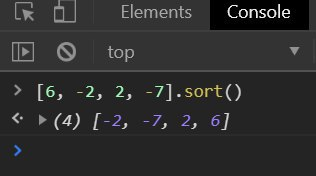 array sorting in Javascript