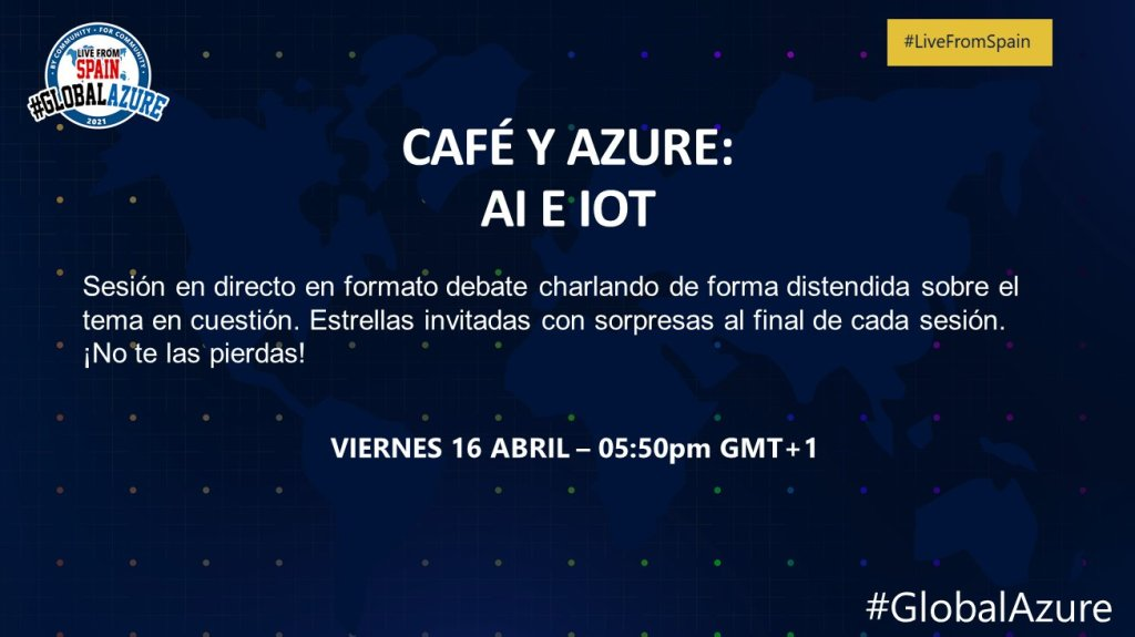 cafe y azure: AI and IoT